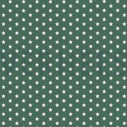Poplin Kleine Sterretjes 04955 V Groen 027