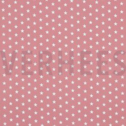 Poplin Kleine Sterretjes 04955 V Roze 031