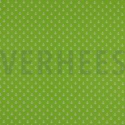 Poplin Kleine Anker 8601 V Lime 008
