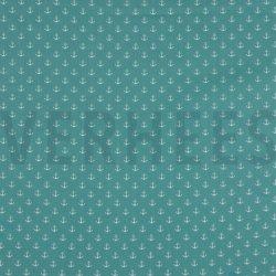 Poplin Kleine Anker 8601 V Turquoise 009