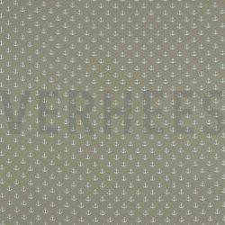 Poplin Kleine Anker 8601 V zand 022