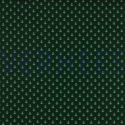 Poplin Kleine Anker 8601 V groen 027