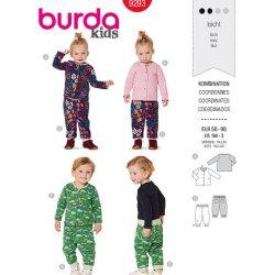 Burda 9293 Broekjes en Truitjes baby