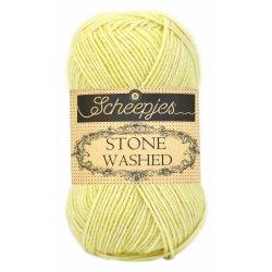 Stone Washed. Pendikte 3-3,5 mm. Kleur 817. Citrine. Scheepjeswol.