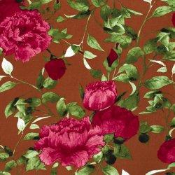 Viscose bloem 14286 Brique 056