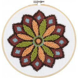 PUNCH NEEDLE MANDALA PN-0190804