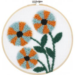 PUNCH NEEDLE MODERN FLORAL PN-0190803