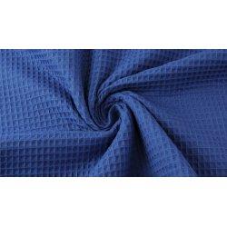 Wafeldoek 100% Katoen 9385-309 blauw