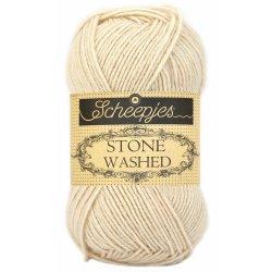 Stone Washed. Pendikte 3-3,5 mm. Kleur 821. Pink Quartzite.  Scheepjeswol.