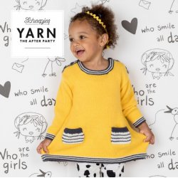 Gratis geprint patroon Paytime Dress geel van Merino Soft Scheepjes Kleur 644