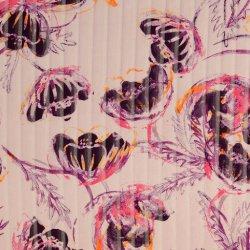 Satijn strepen en bloemen Clementina 990225 0002