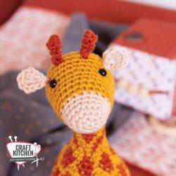 Gratis geprint Patroon Knuffel Giraffe Restyle