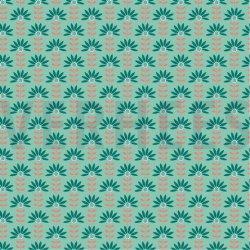 LET OP PRESALE Poplin Graphic Flower 08237V Mint 006