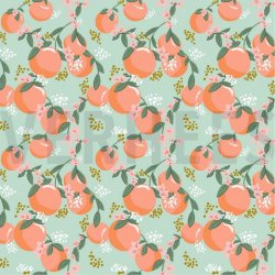 LET OP PRESALE Poplin Fruit 08363V Mint 007