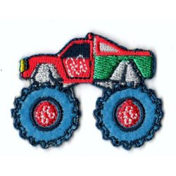 Applicatie Monstertruck rood