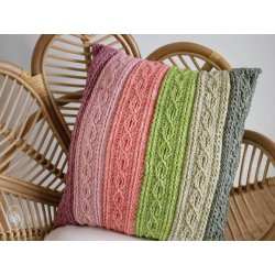 Gratis Geprint Patroon Kabelkussen van Durable Cosy Fine Faded MP