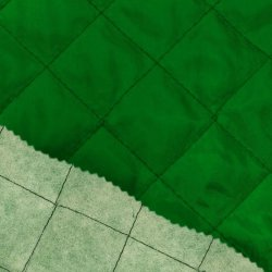 Voering gewatteerd 0168K groen 200