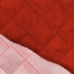 Voering gewatteerd 0168K rood 440