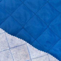 Voering gewatteerd 0168K blauw 650