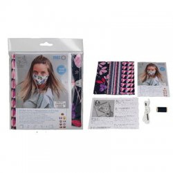 Sewing kit 3 mondmaskers kleur 2