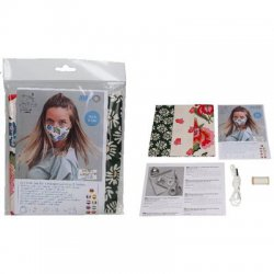 Sewing kit 3 mondmaskers kleur 3