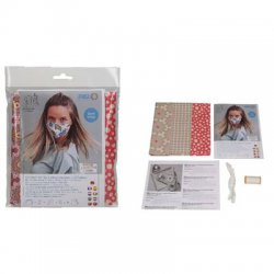 Sewing kit 3 mondmaskers kleur 7