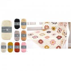 Pakket Coaster Square Deken Roze 014.119