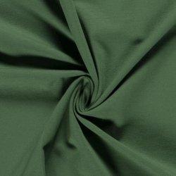 Tricot Uni Katoen/Elastan groen 125