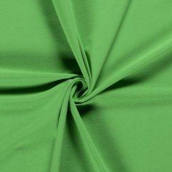 Tricot Uni Katoen/Elastan Groen 123