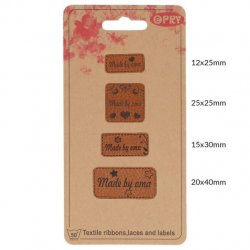 OPRY SKAI-LEREN LABELS MADE BY OMA 69650-02