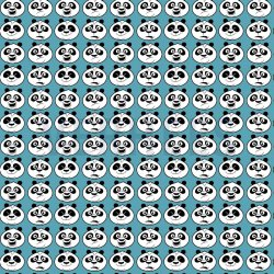 Kung Fu Panda Disney Katoen 08637V Aqua 003