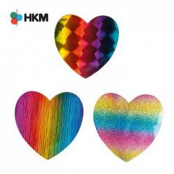 HKM APPLICATIE HART REGENBOOG - 3ST 10245009