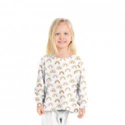 Flannel Katoen Regenboog 08803 wit 001