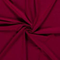 Tricot/Jersey Viscose Elastan Uni  02194 Wijnrood 119