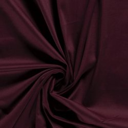 Satijn Katoen Stretch Uni Wijnrood 019