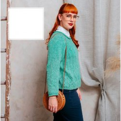 Gratis Patroon Bookworm Sweater van Scheepjes Secret Garden