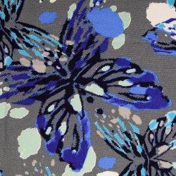 Linnen Viscose Abstract 133598 kleur 0012