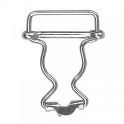 Tuinbroekgesp Draadsluiting zilver, goud of koper. 25-35-40 mm