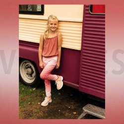 LET OP PRE ORDER FRENCH TERRY DIGITAL PRE-DYED SMOOTH COLOURS 07785V Roze 001