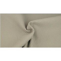 Wafeldoek 100% Katoen 9385-62 Light Grey