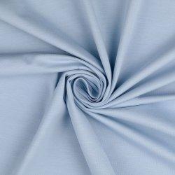 Organic Katoenen Jersey Uni 129322 7036 blauw