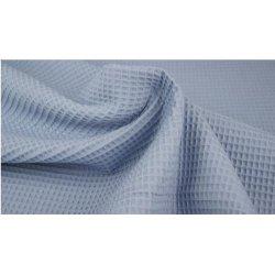 Wafeldoek 100% Katoen 9385-401 Jeans Blue