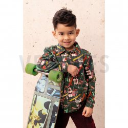 SOFT SWEAT GOTS Skateboards 08350 groen 002
