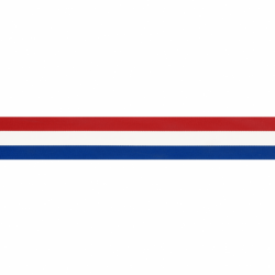 NEDERLANDS VLAGGENBAND 25MM