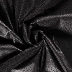 IMITATIEWILDLEER STOF EFFEN ZWART 16040 zwart 069
