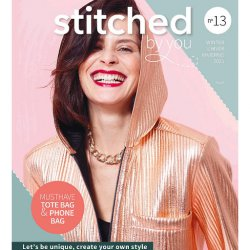 Modeblad Stitched By You nr 13 Herfst Winter 2021