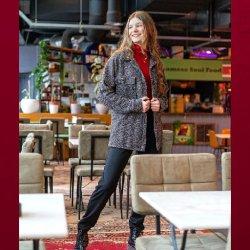 Stof voor shirt model S1101 uit My Image herfst winter 2021 art Tricot/Jersey Viscose Elastan Uni rood 02194 016