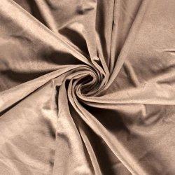 LET OP PRE-ORDER Imitatiewildleer stretch stof effen 16039 beige 152
