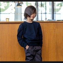 Stof voor Sweater model B2155-A uit BTrendy herfst winter 2021 art French Terry 92% Katoen 05470 Zwart 069