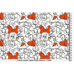 Mickey en Minnie Mouse Tricot 129644